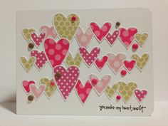 Cupcakes, Cards and Kim: Heart Prints