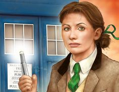 """Check out new work on my @Behance portfolio: """"13th Doctor"""" http://be.net/gallery/55010543/13th-Doctor"""