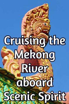 Cruising the Mekong River, Cambodia aboard the ultra-luxurious Scenic Spirit. #rivercruise