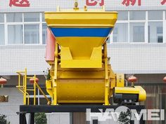 Automatic JS series concrete mixer machine with CE approved The main super advantage compared to SICOMA concrete mixer is with self-loading hopper. JS concrete cenment mixer is suitable for all large and middle-size concrete projects, it is used widely in concrete mixing plant and concrete batching plant.