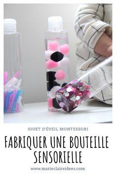 Fabriquer une bouteille sensorielle pour éveiller votre bébé