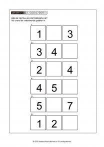 ontbrekende getallen 001