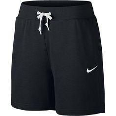 Nike French Terry Club Shorts ($30) ❤ liked on Polyvore featuring activewear, activewear shorts, nike activewear, nike sportswear and nike
