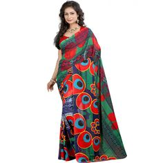 Appealing Multicolor Color Premium Georgette Printed Saree at just Rs.499/- on www.vendorvilla.com. Cash on Delivery, Easy Returns, Lowest Price.