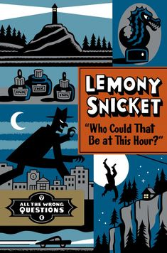 The cover of the new Lemony Snicket book has been revealed!!!