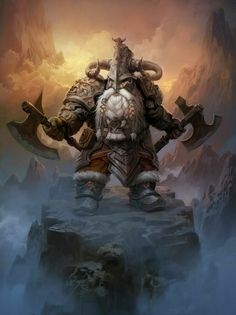 Fantasy Dwarf, Fantasy Dragon, Fantasy Rpg, Fantasy Artwork, Fantasy Races, Fantasy Warrior, Dungeons And Dragons Characters, Fantasy Characters, Paladin