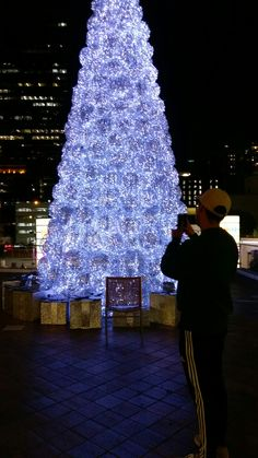 While you were looking at the tree, I was looking at you and I couldn't keep my eyes off of you.