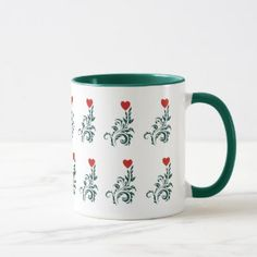 Love Tree Valentine Special Combo Mug at Just Made by Zazzle off with code Valentine Special, Tea Cups, Coffee Mugs, Create, Tableware, Amazing, How To Make, Gifts, Design