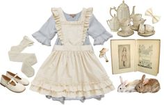"""""""Alice in Wonderland"""" by herimperialhighness ❤ liked on Polyvore"""