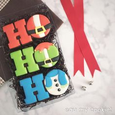 Christmas Biscuits, Christmas Sugar Cookies, Christmas Sweets, Holiday Cookies, Cookie Frosting, Cupcake Cookies, Cupcakes, Cookie Designs, Cookie Ideas