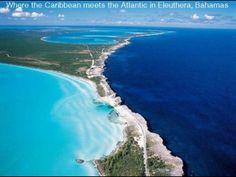 Where the Caribbean meets the Atlantic. Bahamas