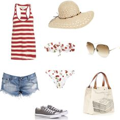 perfect summer/ beach outfit! find more women fashion on www.misspool.com