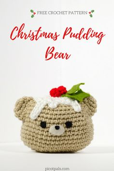 Christmas Pudding Bear