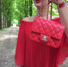 """An in-depth look at Chanel classic sizes and prices, in particular the Chanel mini flap bag. The unofficial trend seems to be: """"smaller is better!"""""""