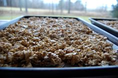 granola - instead of boxed cereal for breakfast every day...