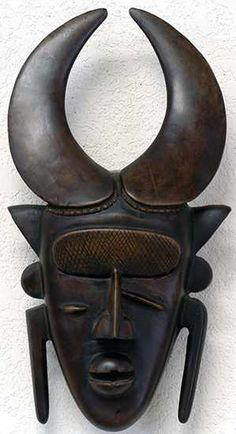 Senufo mask.  See too the following site for additional African mask images and information: http://www.zyama.com/index.htm