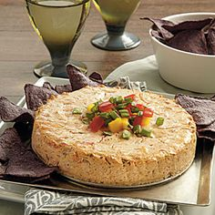 Slow-Cooker Appetizers  | Salsa Cheesecake | MyRecipes.com