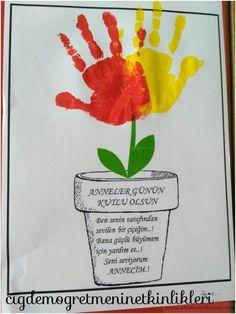 Ben senin çiçeğinim anneciğim   OKUL ÖNCESİ FORUM