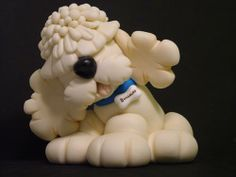 BUGGALOO.......my sweet dog....kkk! - MEIRE BARI - Chicago,USA - BISCUIT-PORCELANA FRIA-COLD PORCELAIN - Terra Fotolog