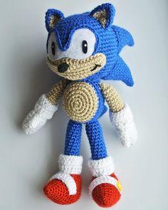 83 Best Crochet I Like Sonic The Hedgehog Images Crochet Sonic Sonic The Hedgehog