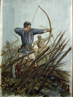 In the Hundred's Year War who had the most archers