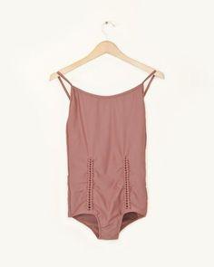#Swimwear  Swimwear & Beachwear for Women : A Détacher Angela Swimsuit in Ginger