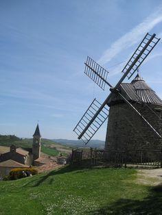 Moulin de Lautrec, Tarn, Midi-Pyrénées, pays de cocagne