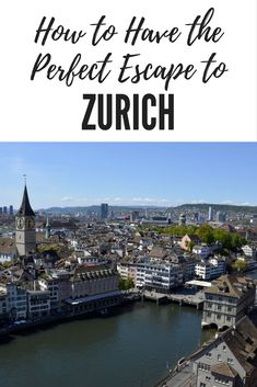 The financial hub of Europe, Zurich is a melting pot of international cultures, but at the heart of it all, it is quintessentially Swiss. With it's enviable location where Lake Zurich meets the Limmat River, it's a must see spot. Here's why you should add this incredible city to your travel list.-Travelocity Ambassador Kirsten Maxwell