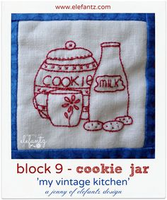 Final free block for 'My Vintage Kitchen' BOM!