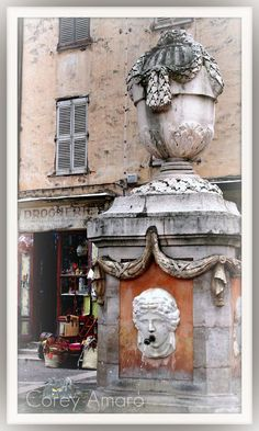 Experience Cotignac in the heart of Provence, France Beautiful Castles, Beautiful World, Beautiful Places, Water Fountains, Garden Fountains, France 1, Provence France, Paris Images, French Architecture