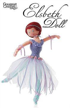 Elsbeth Doll - ballerina crochet doll pattern