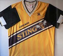 Chicago Sting Soccer .