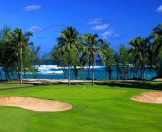FAZIO!! Hawaii Golf   Turtle Bay Golf Photos   North Shore Golf