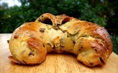 Cesnakové croissanty so semienkami