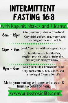 Intermittent Fasting Made Easier With Isagenix - cleanse intermittentfasting fasting detox isagenixcleanse breakfast antiaging 97179304446972917 Detox Kur, Liver Detox Cleanse, Health Cleanse, Stomach Cleanse, Body Cleanse Diet, Gut Health, Cleanse For Life, 30 Day Cleanse, Full Body Detox