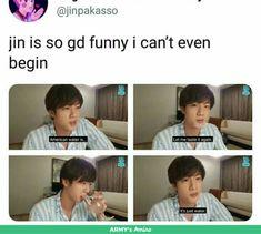 Seokjin, Bts Namjoon, Kookie Bts, Bts Jin, Bts Bangtan Boy, Taehyung, Jimin, Bts Memes Hilarious, Bts Funny Videos