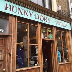 This shop is featured in one of my all time favorite movies - About Time. The movie stars Rachel McAdams and Domnhall Gleason and is set in London (of course). I watch this movie at least once a week and it would be really cool to visit a location actually in the movie!
