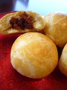 Char Siu Bao (Soft, flaky & ever so slightly sweet buns stuffed with chinese BBQ pork & special sauce)