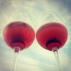 looking at life through Passaggio Wines Rose Colored Glasses...