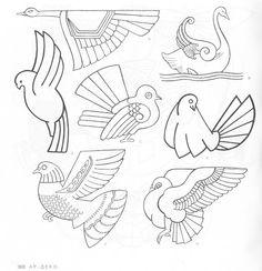 4000 Animal, Bird and Fish Motifs - Assai Elle - Picasa Web Albümleri