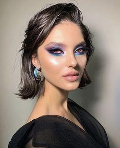 Glam Makeup, Cute Makeup, Gorgeous Makeup, Pretty Makeup, Skin Makeup, Makeup Art, Beauty Makeup, Peach Makeup, Glitter Makeup