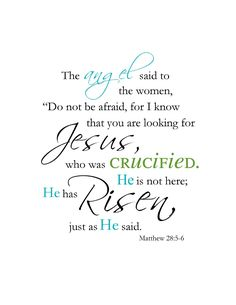 He is risen! The real reason for Easter!