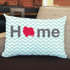 Righteous Hound - Home Pomeranian Pillow