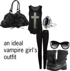 Minus the vampire thing, this is pretty cute. And something I'd actually wear. Rock Outfits, Casual Outfits, Cute Outfits, Halloween 2016, Halloween Horror, Halloween Ideas, Teen Wolf Outfits, Teen Fashion, Fashion Outfits
