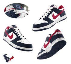 74514ece401345 Mens Nike Houston Texans Dunk Shoes white blue ID 789410536  65 Nike Dunks