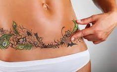 tummy tuck scar cover tattoo - Google Search