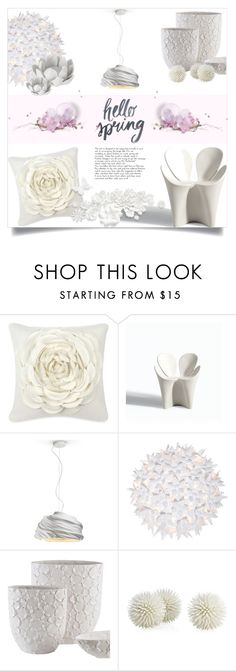 """""""Hello spring!!"""" by lulunam ❤ liked on Polyvore featuring interior, interiors, interior design, home, home decor, interior decorating, Blissliving Home, Driade, Fabbian and Kartell"""