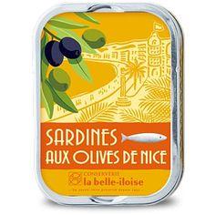 Sardines aux Olives de Nice La Belle Iloise // Maitre Philippe et Filles