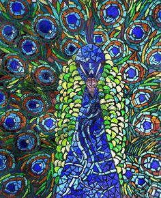 Peacock - Mosaic