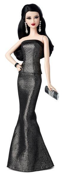 Red Carpet™ Barbie® - Grey  Black Gown